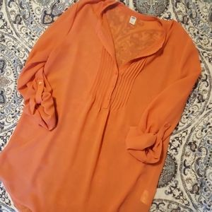 Adorable ON Apricot Tunic